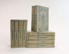 THE WORKS: SENSE AND SENSIBILITY, PRIDE AND PREJUDICE, EMMA, MANSFIELD PARK, NORTHANGER ABBEY and PERSUASION.