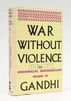 WAR WITHOUT VIOLENCE.