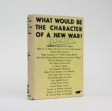 WHAT WOULD BE THE CHARACTER OF A NEW WAR?
