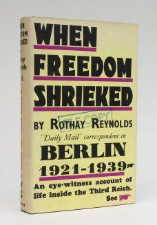 WHEN FREEDOM SHRIEKED.