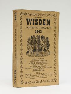 WISDEN CRICKETERS' ALMANACK 1943