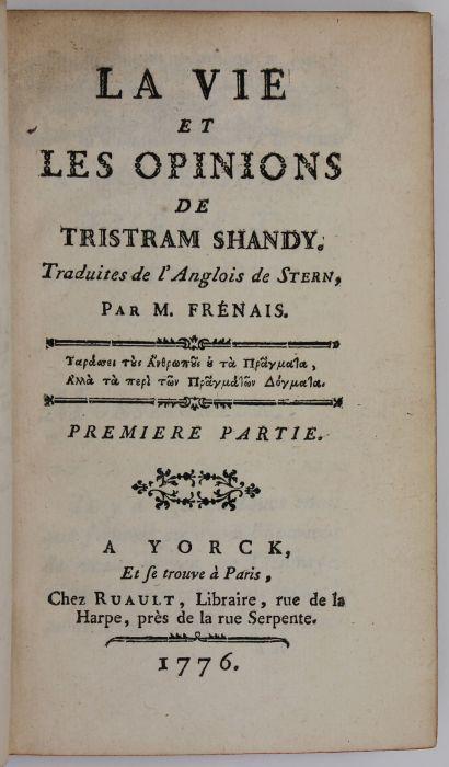 essay titles tristram shandy