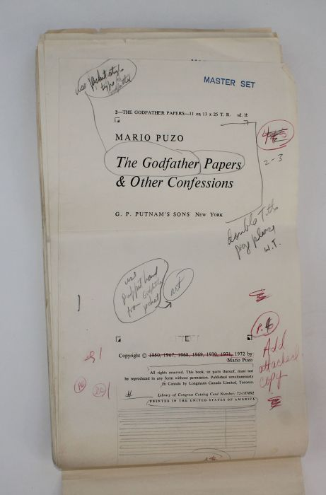the godfather essays Use our baptism speeches samples to create one of your own  being a godfather or a godmother itself can  sentences and apply a rule of thumb in students essays.